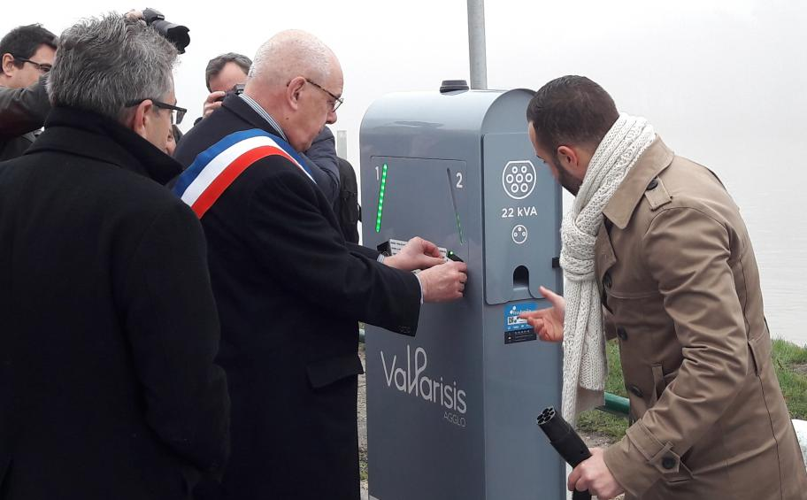 Eiffage Énergie Systèmes installs public charging points for electric vehicles in Val Parisis Urban Area