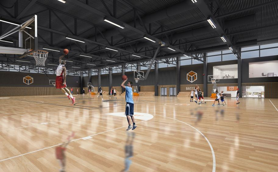 Strasbourg: a new sports complex dedicated to basketball will see the light of day!