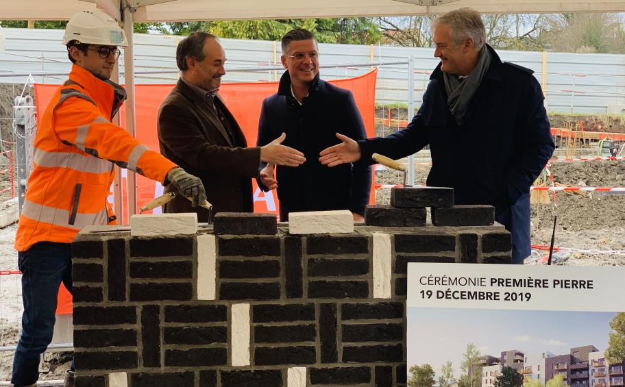 Eiffage Immobilier officially lays the foundation stone of the Revd'O residence in Valenciennes