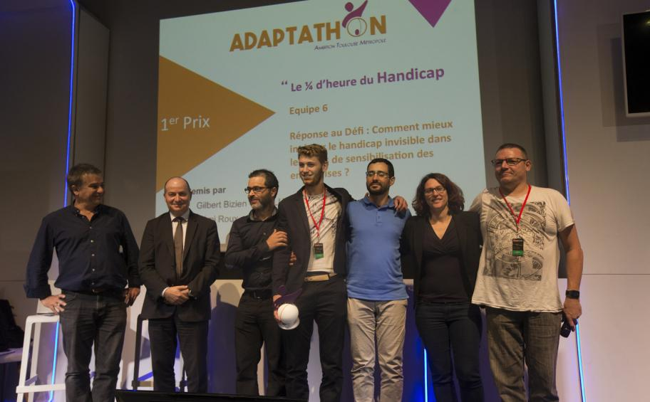 Eiffage Route wins a prize in the 3rd Adaptathon