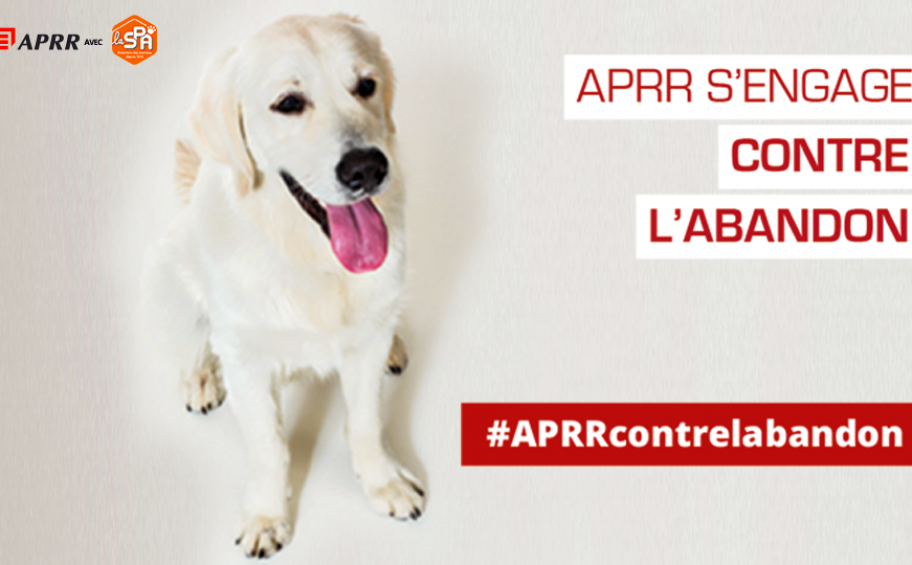 #APRRcontrelabandon, APRR s'engage avec la SPA