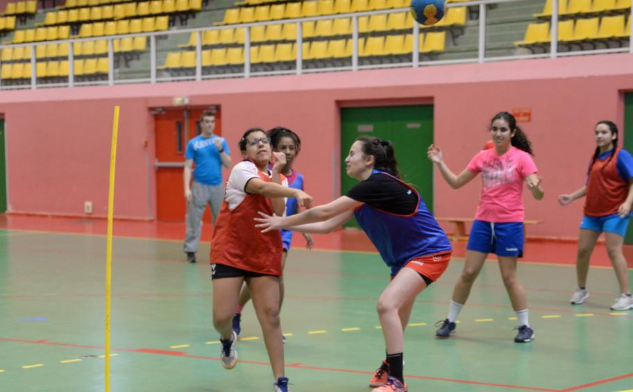 Fondation Eiffage : insertion et handball 100% féminin à Vaulx-en-Velin