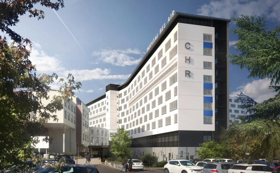 Eiffage Construction selected for Energy Renovation of Bel Air Hospital at Thionville (57)