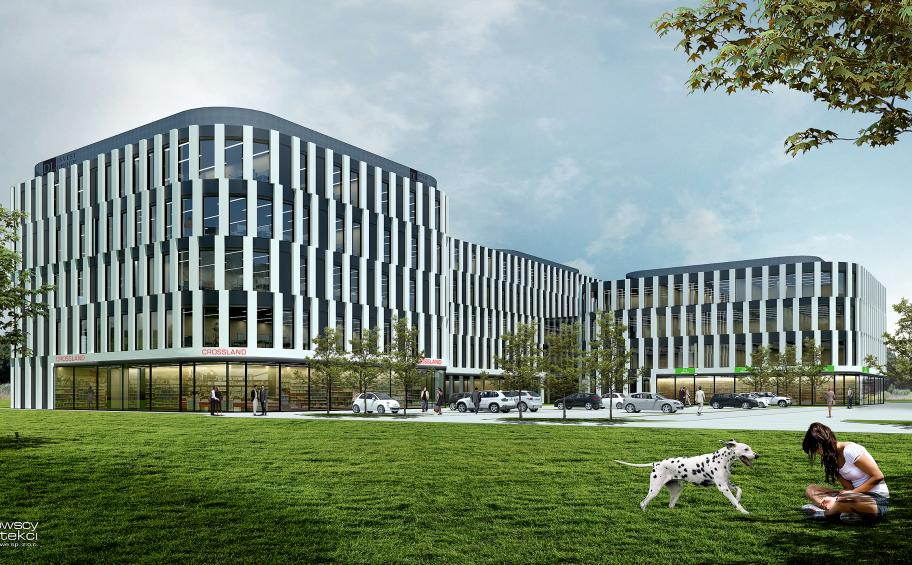 Eiffage Polska Budownictwo  chosen to build the office building DL Center Point II in Katowice