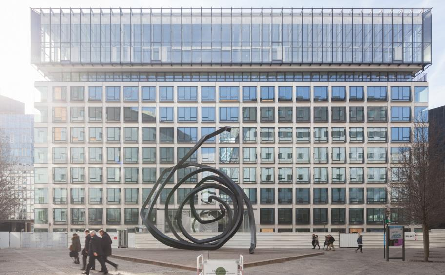 Eiffage Construction completes the rehabilitation and extension work of Carré Michelet in La Défense (92)