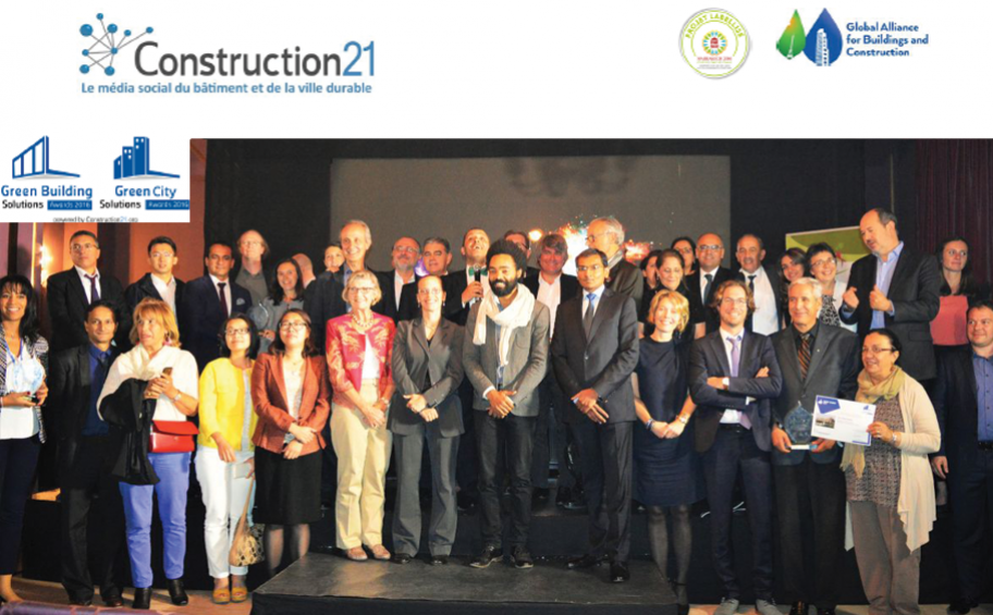 « Green Building & City Solutions Awards » à la COP22 : des récompenses au sommet !