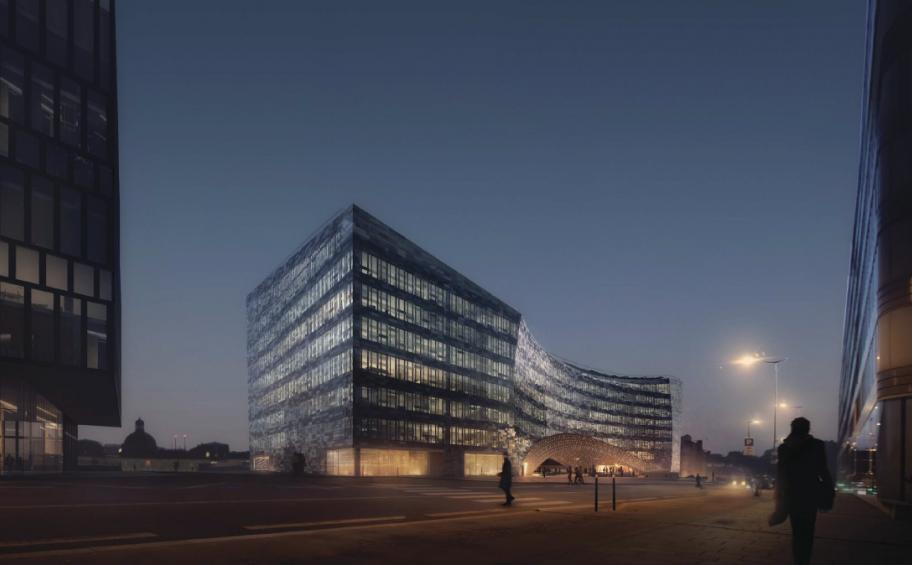 Eiffage wins the contract for the construction of the metal framework and the facade of Le Monde's new headquarters in Paris for more than €43 million