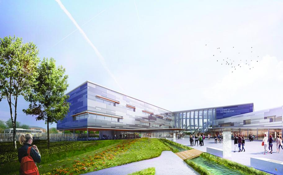 Eiffage Énergie takes part in work on the future Montech high school