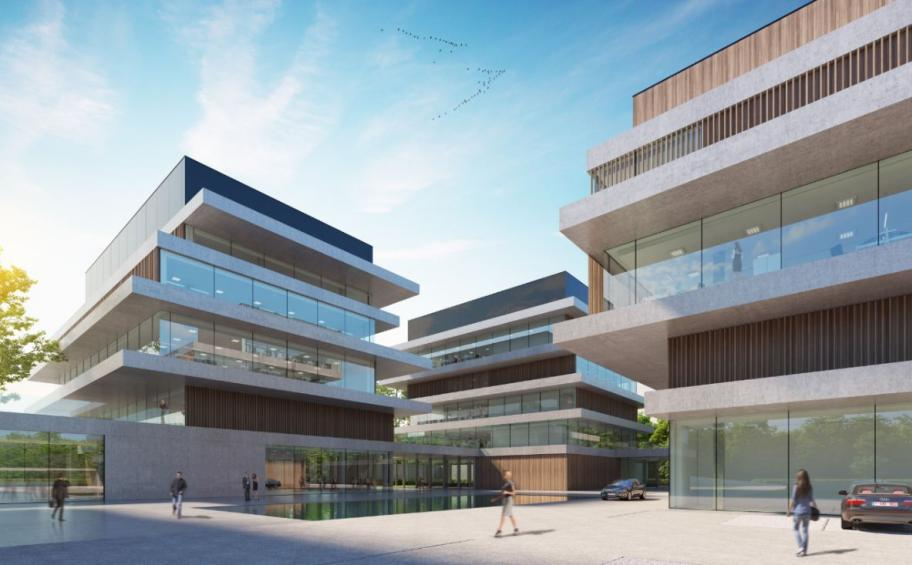 AB and Vuylsteke, subsidiaries of Eiffage Benelux, prepare the future Flemish 'Google Campus'