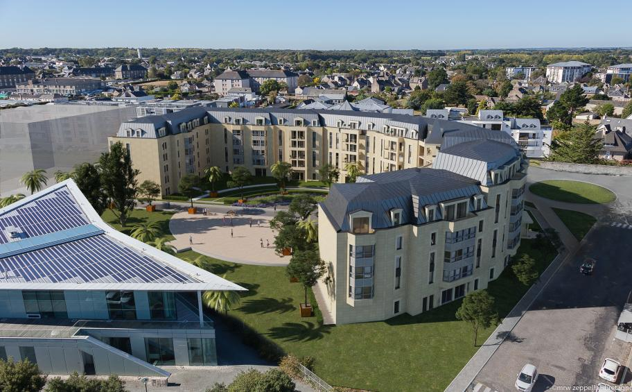 Eiffage Immobilier acquires the land at Newquay Place in Dinard to create a 43,000 m² residential development