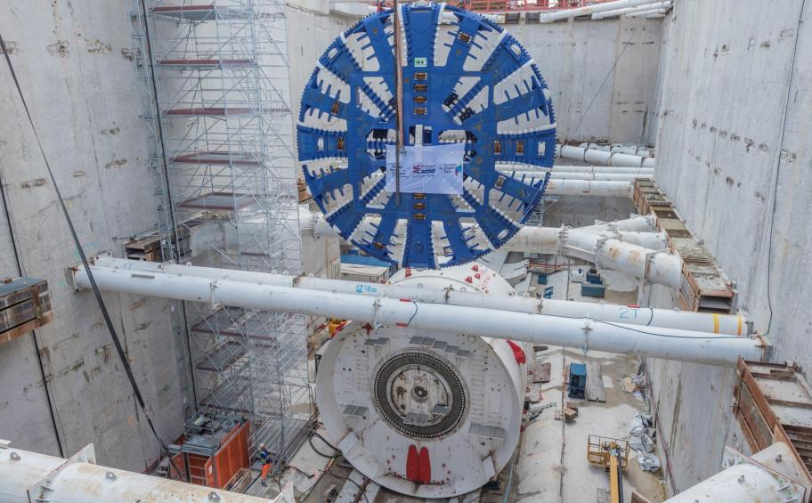 Grand Paris Express: soon a new tunnel boring machine on line 15 South