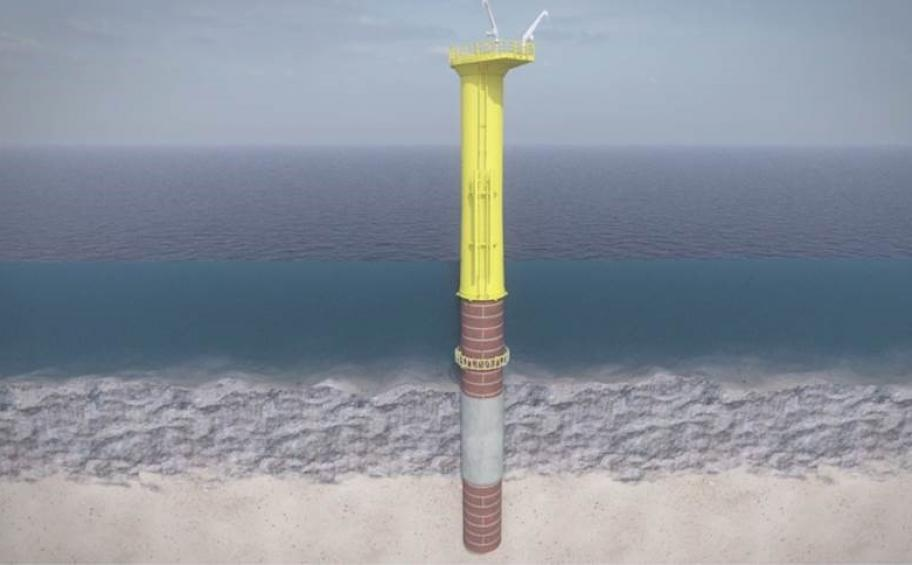 The Eiffage and DEME joint venture wins the contract covering the foundations for France's first offshore wind farm