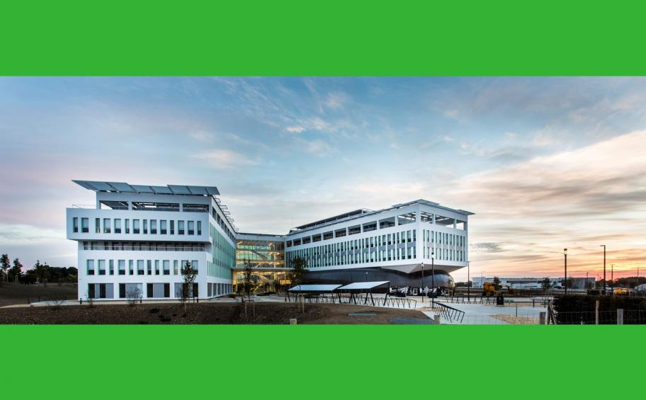 Crédit Agricole regional headquarters near La Rochelle on track for the Green Solutions Awards
