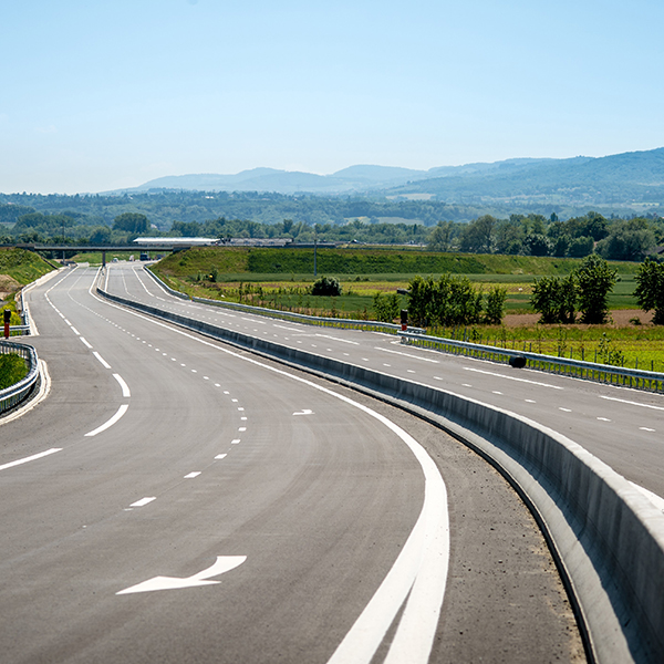 The A466, penultimate link in the Bordeaux-Geneva trans-European road