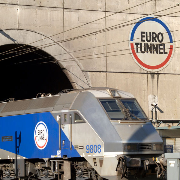 Work starts on the Channel tunnel (Pas-de-Calais)