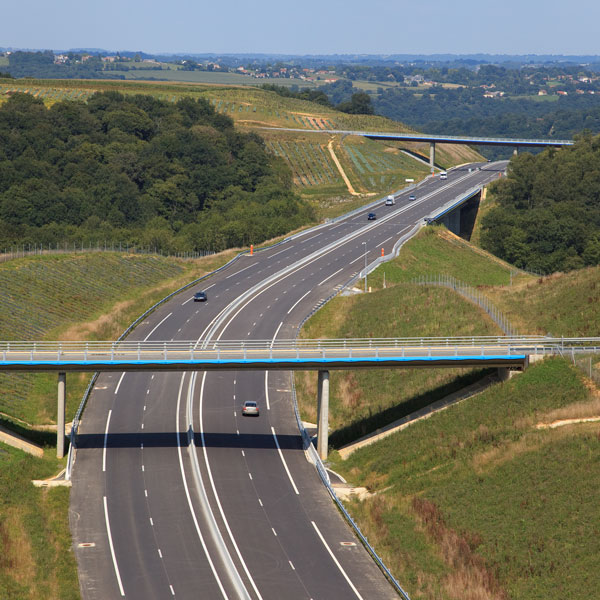 A65 motorway opens to traffic (Nouvelle Aquitaine)