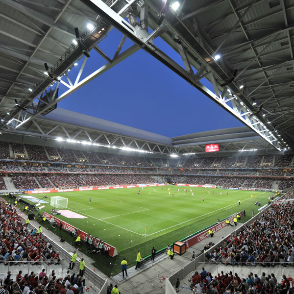 Commissioning of Stade Pierre Mauroy (Nord)
